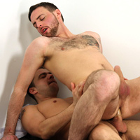 Riley Tess and Matt Brookes