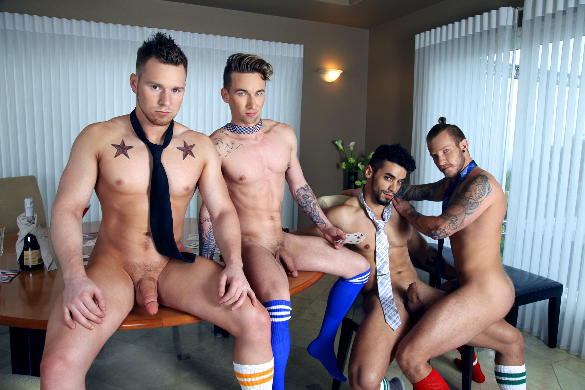 Jaxon Colt, Ashton Webber, Arad and Owen Michaels 3