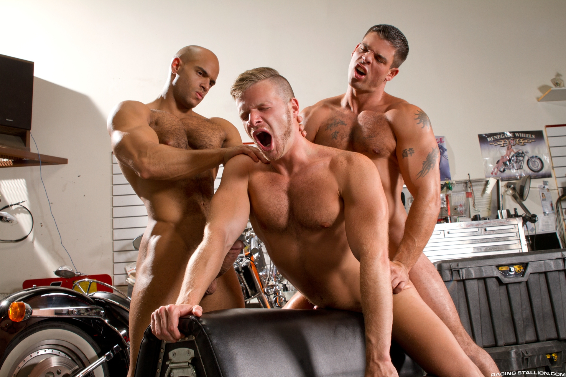 Brian Bonds, Sean Zevran and Derek Atlas 3