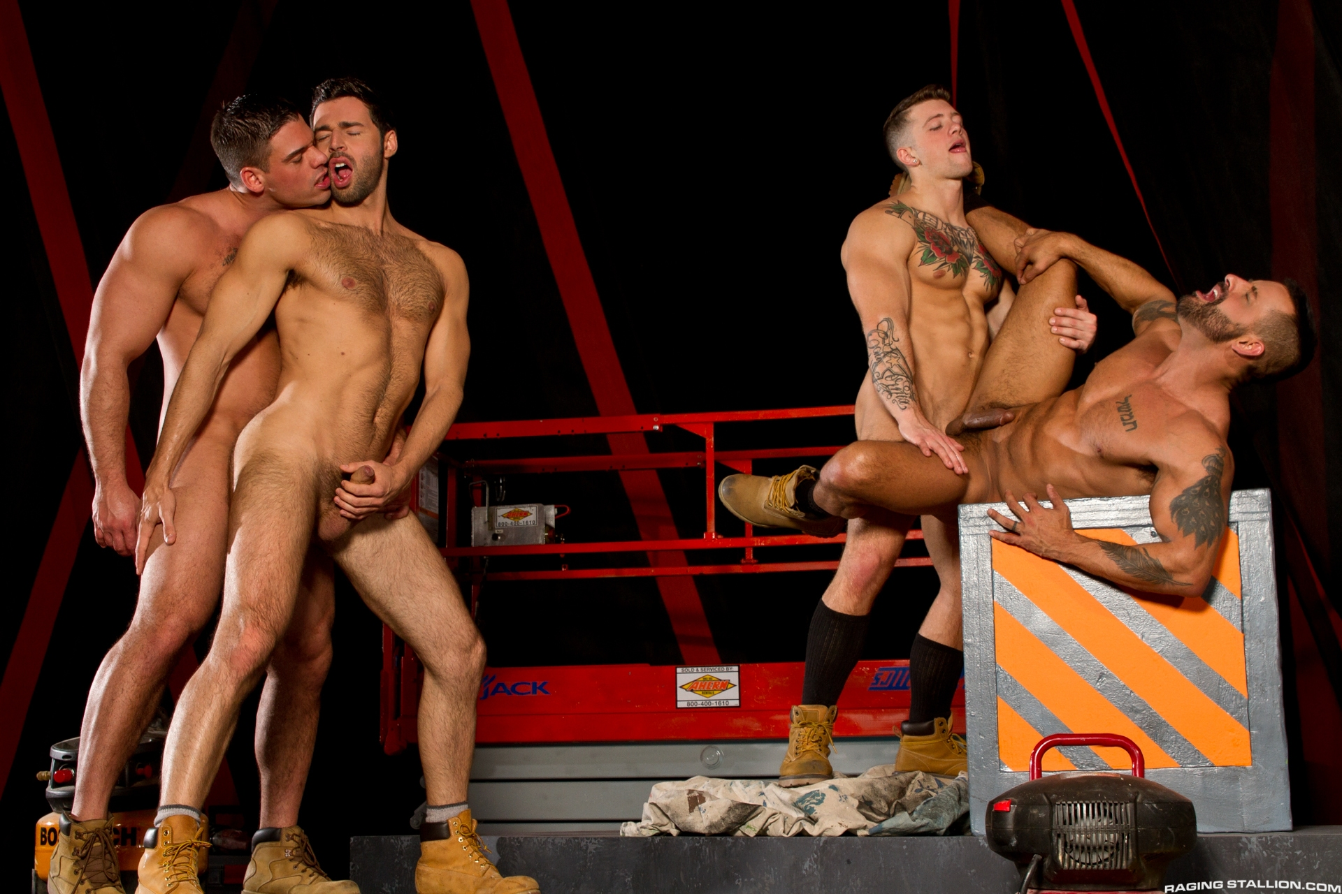 Dario Beck, David Benjamin, Derek Atlas and Sebastian Kross 2