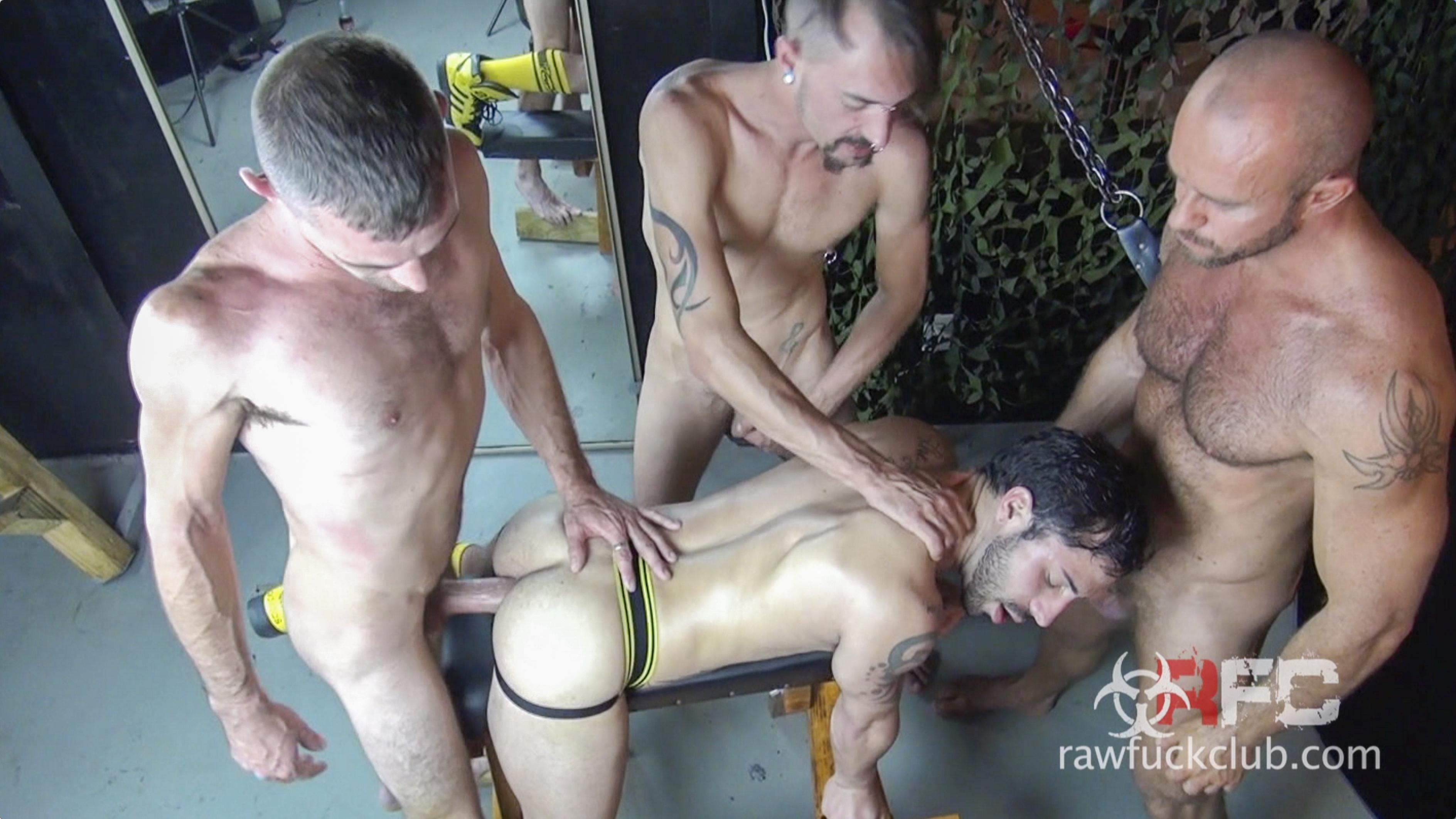 Nick Cross, Matt Stevens, Brett Bradley and Vincent Knight 1