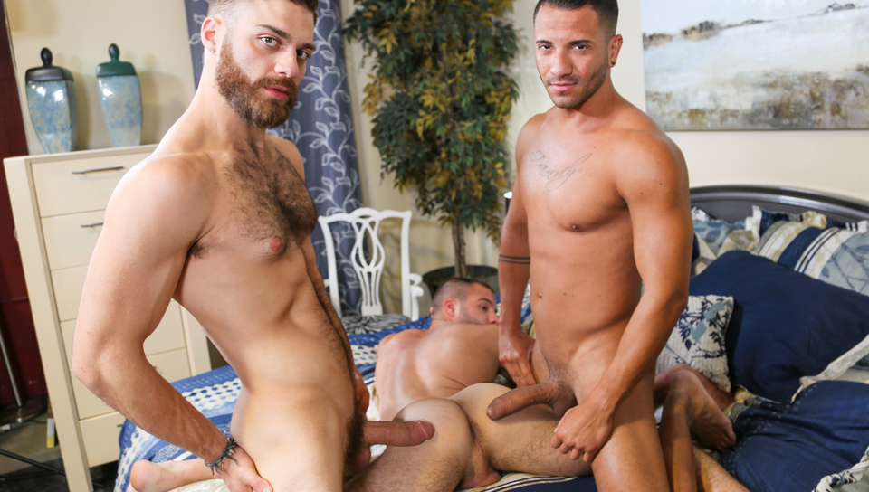 Mario Costa, Tommy Defendi and Braxton Smith