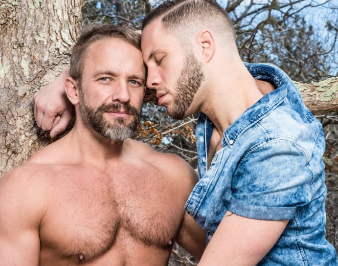 Wolf Hudson and Dirk Caber