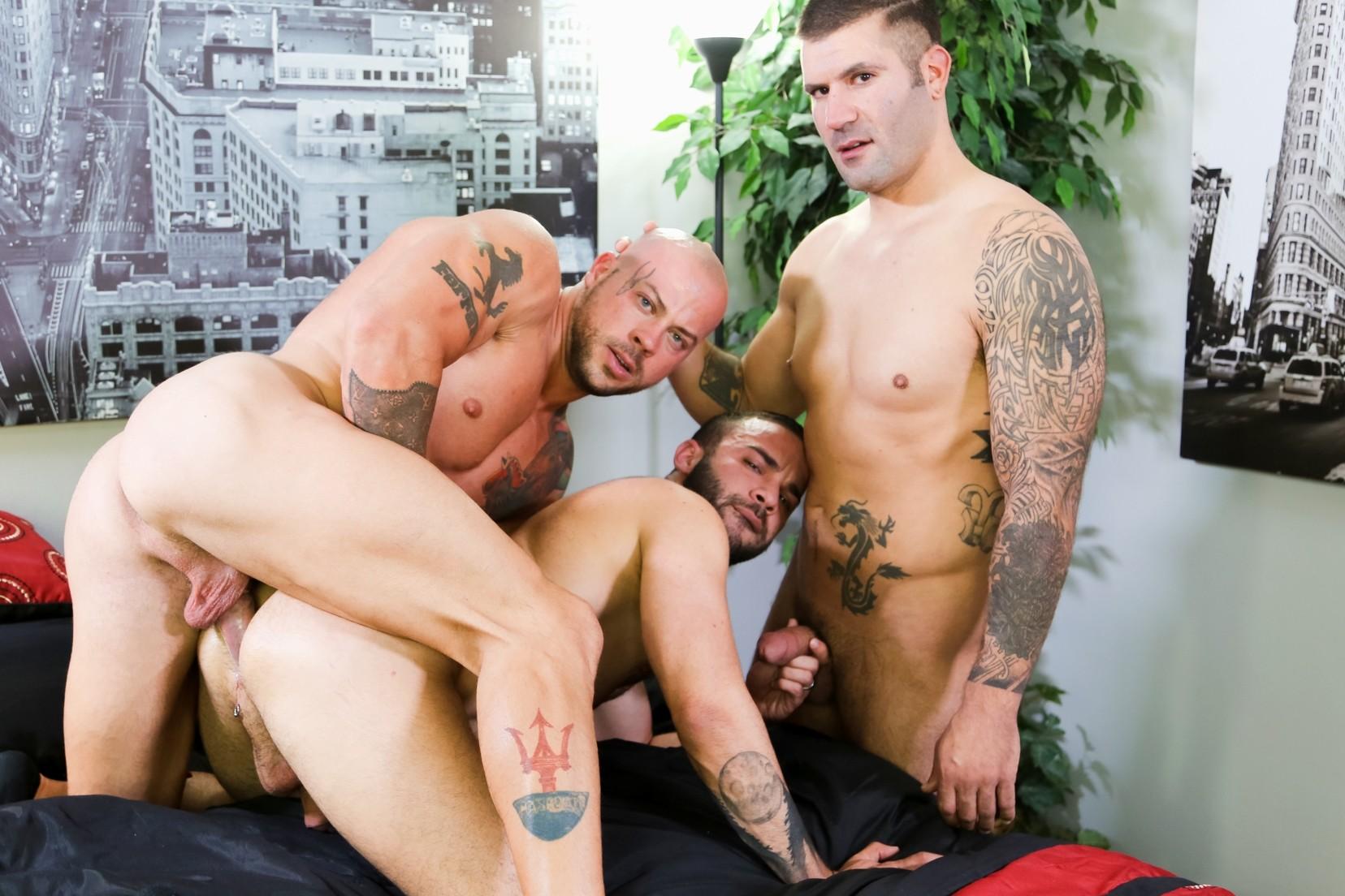 Sean Duran, Fernando Del Rio and Caleb Troy