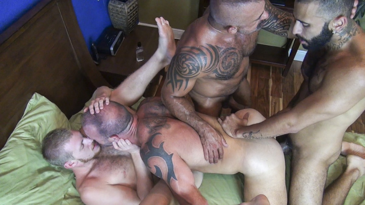 Vic Rocco, Rikk York, Billy Warren and Job Galt