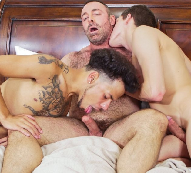 Kory Houston, Tayveon Martin and Brad Kalvo