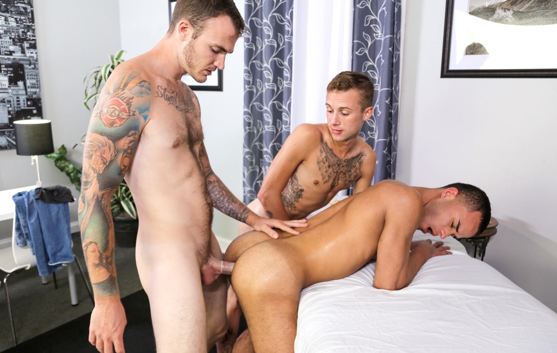 Christian Wilde, Javier Cruz and Sean Christopher