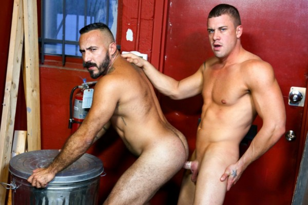Darin Silvers and Alessio Romero