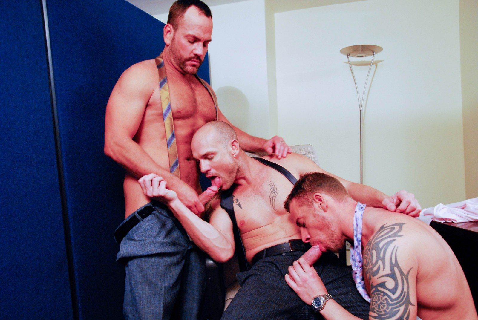 Jake Ryder, Kurt Rogers and Matthew Ford