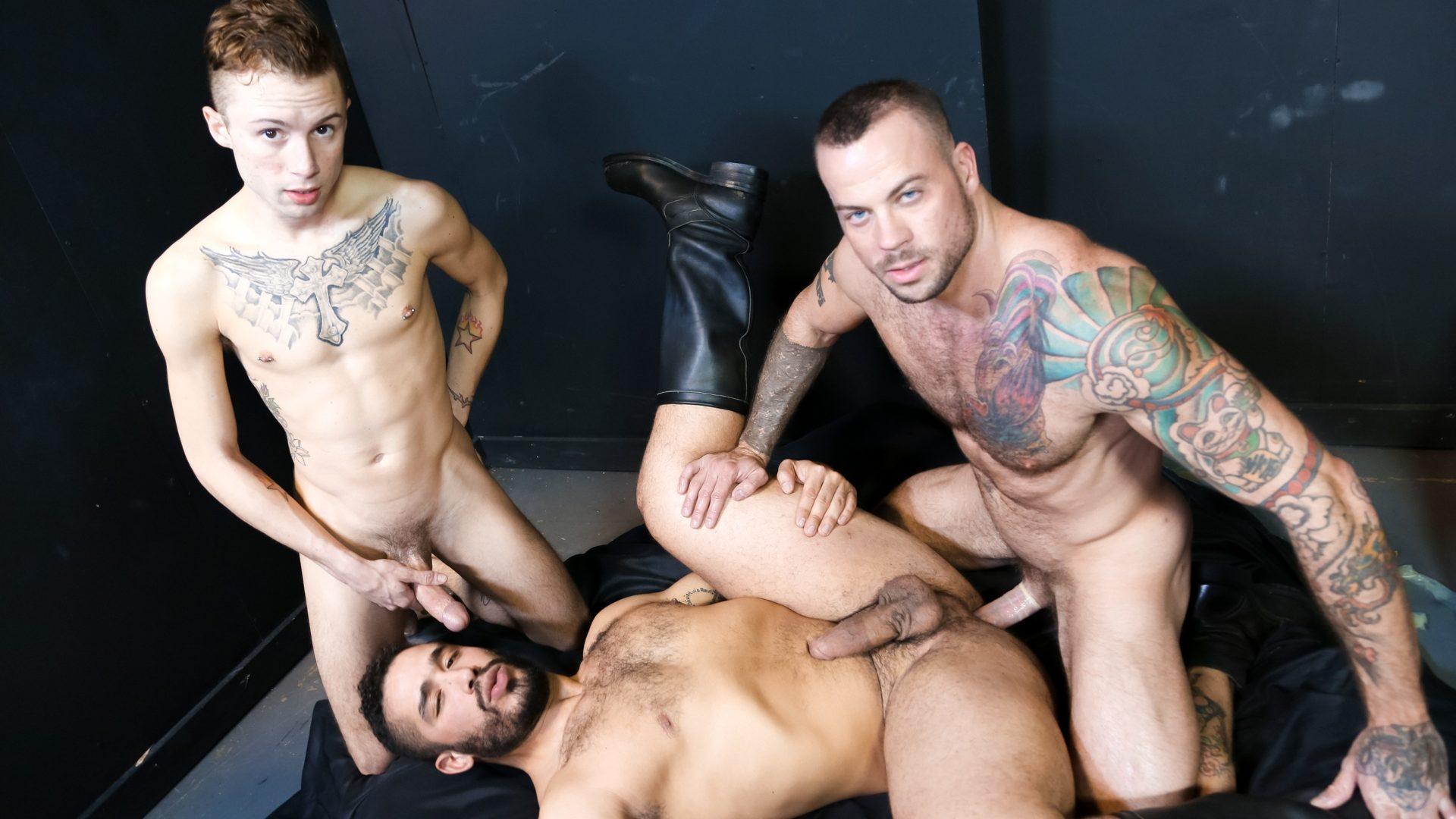 Trey Turner, Sean Duran and Sean Christopher