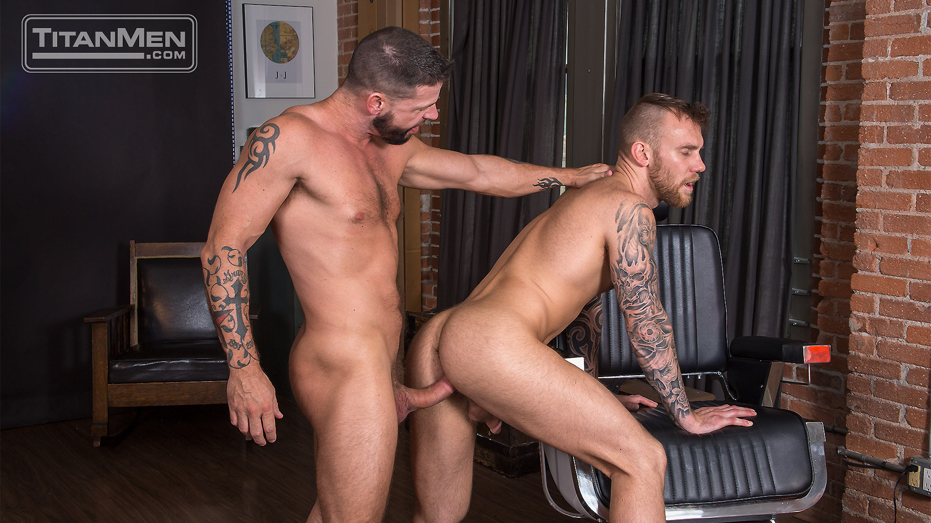 Damien Michaels and Tex Davidson