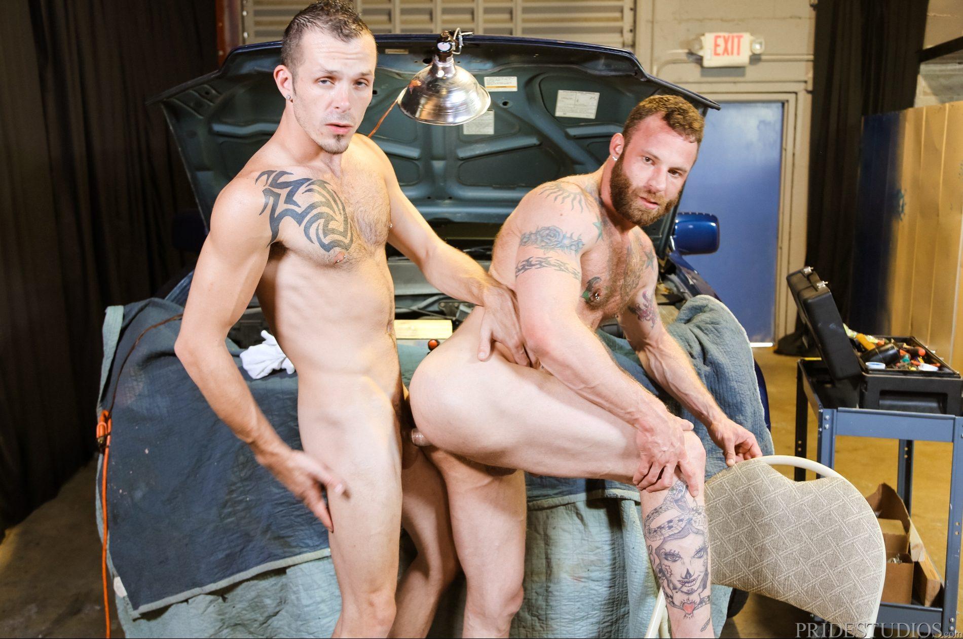 Derek Parker and Jimmy Slater