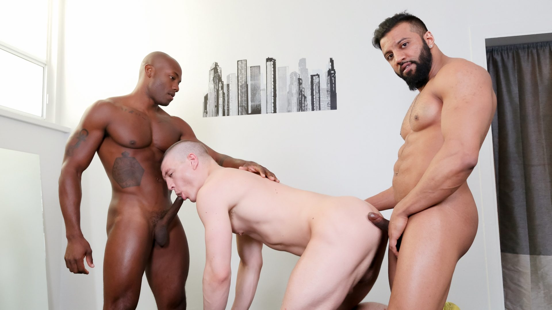Damian Flexxx, Osiris Blade and Caleb King