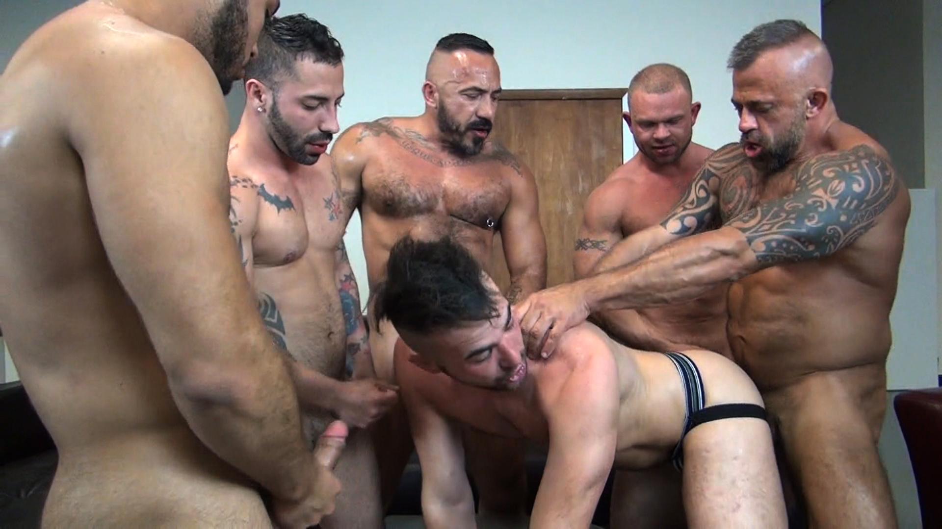 Six Porn Stars Fuck Alex Mason