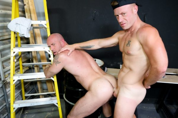 Saxon West and Matt Stevens