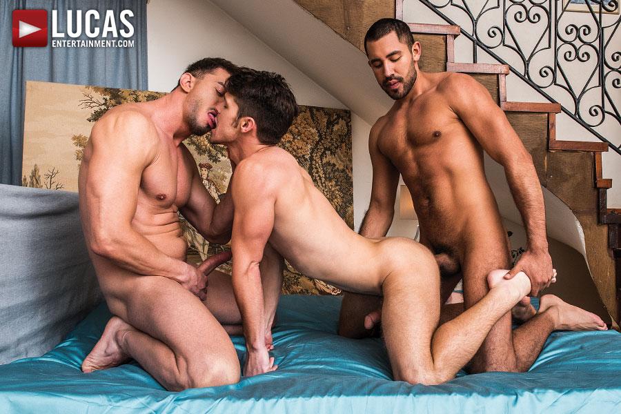 Devin Franco, Nico Deen and Gabriel Taurus