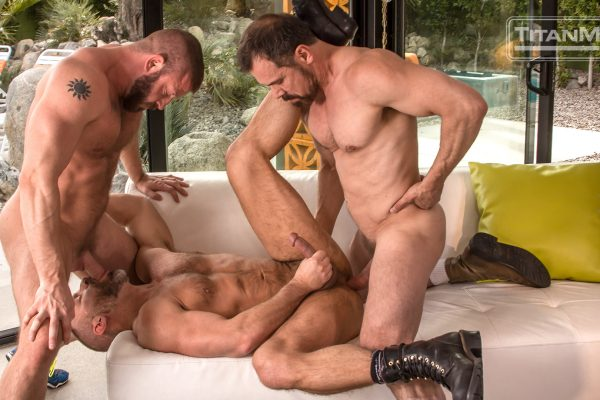 Dirk Caber, Hunter Marx and Max Sargent
