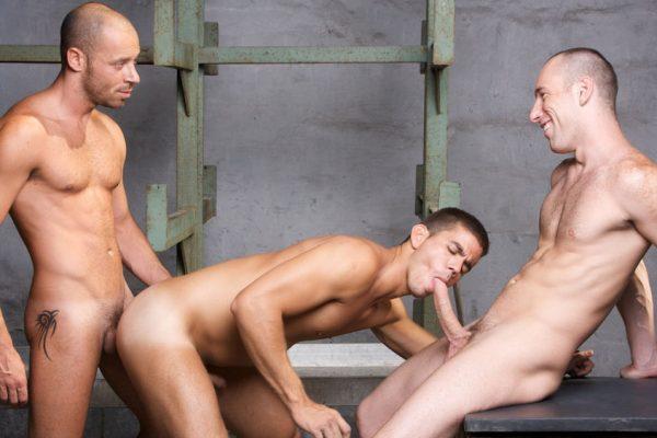 Gay Threesome Porn