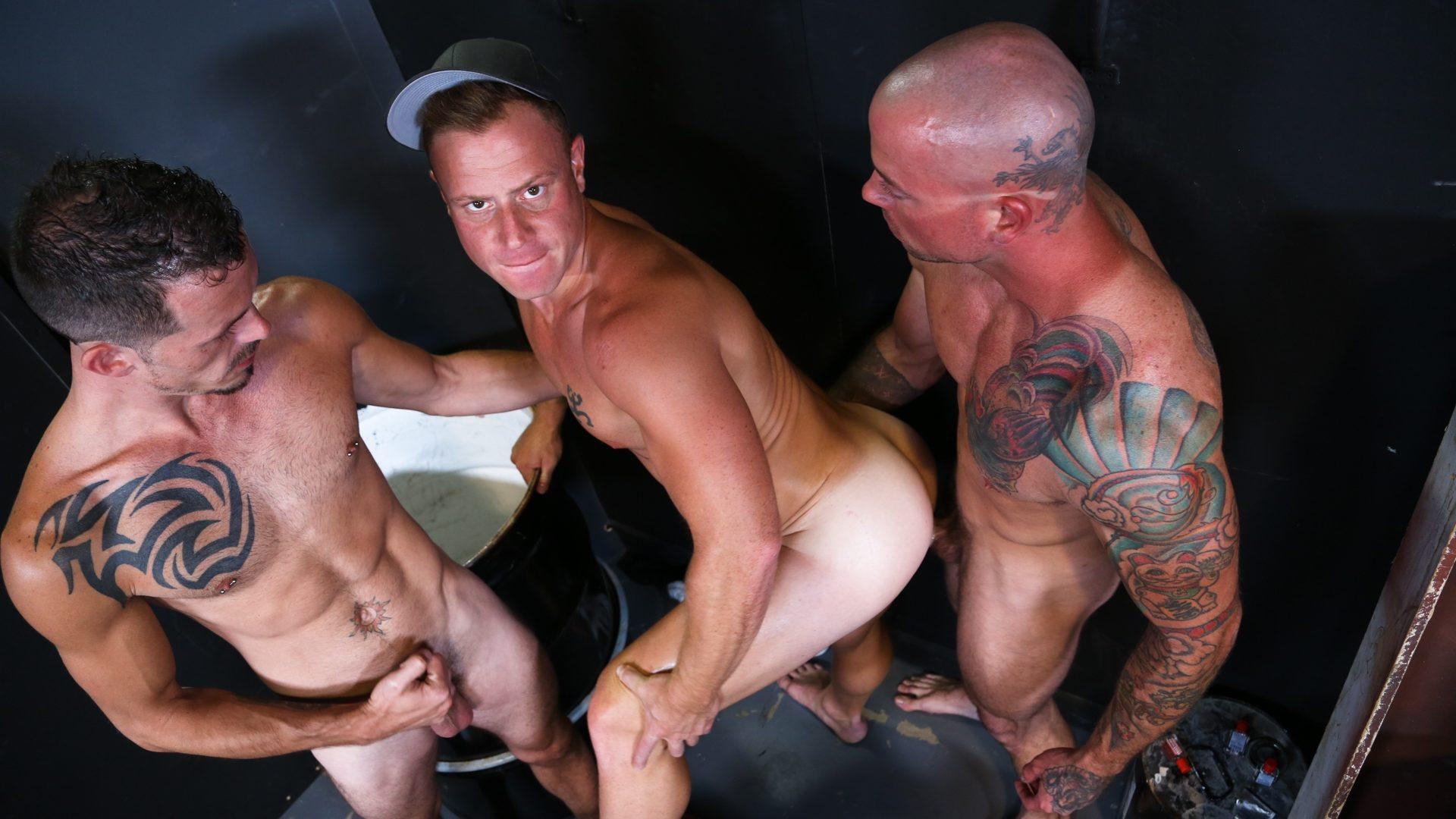 Sean Duran, Jimmie Slater and Saxon West