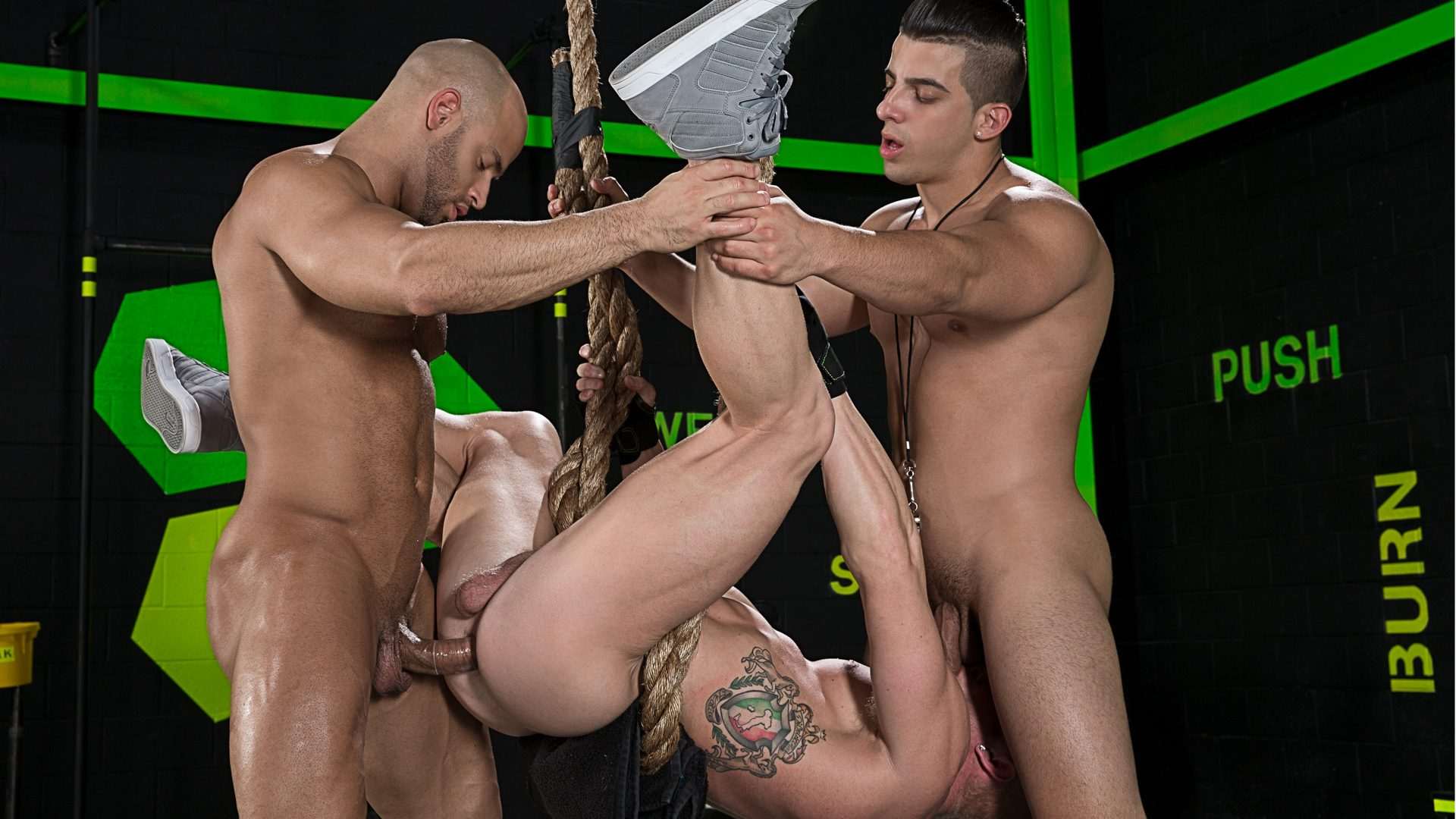 Johnny V, Sean Zevran and Jacob Taylor