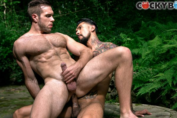Boomer Banks and Alex Mecum