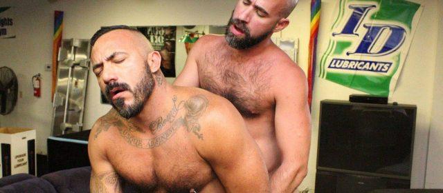 Damon Andros and Alessio Romero