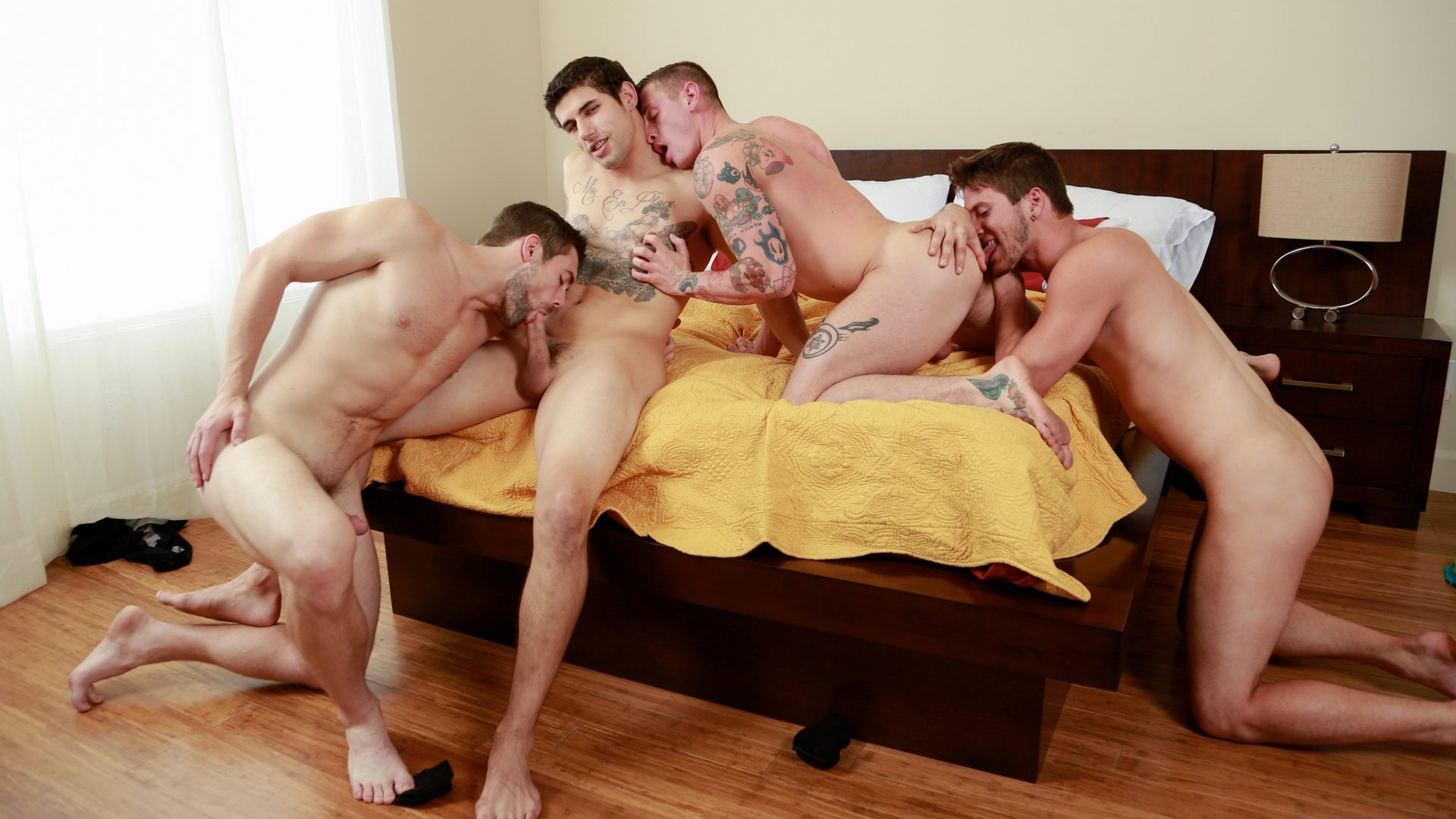 Griffin Barrows, Allen Lucas, Jimmy Clay and Lance Ford 1
