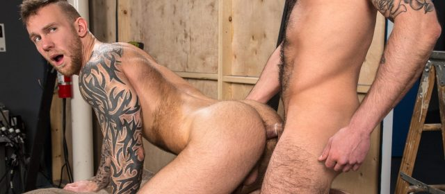 Chris Harder and Damien Michaels