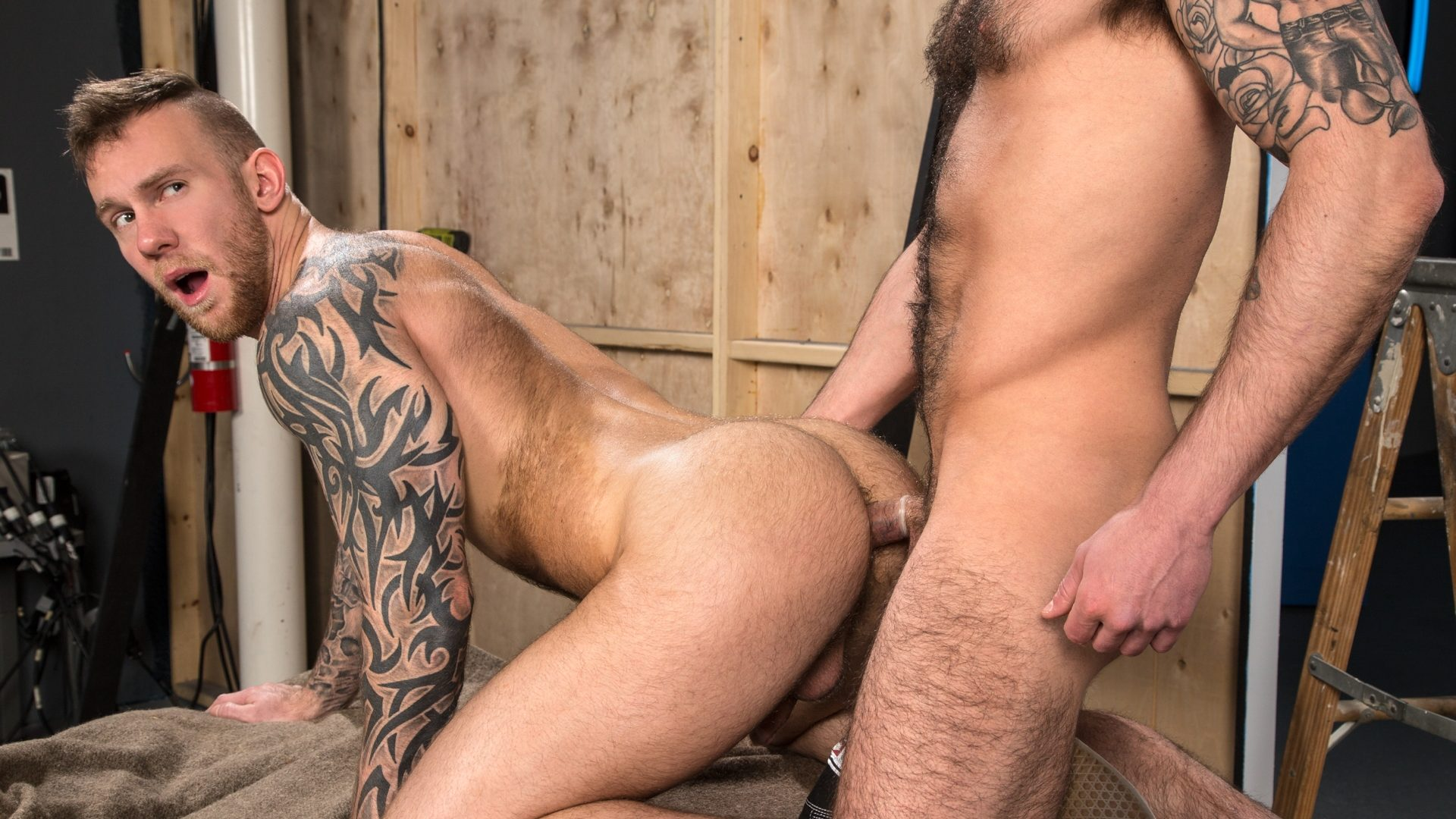 Chris Harder and Damien Michaels 1