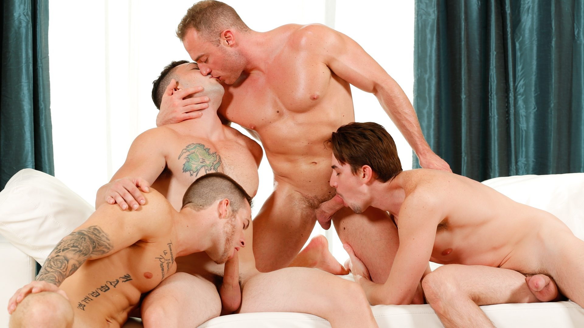 Quentin Gainz, Johnny Riley, Jack Hunter and Jacob Durham 1
