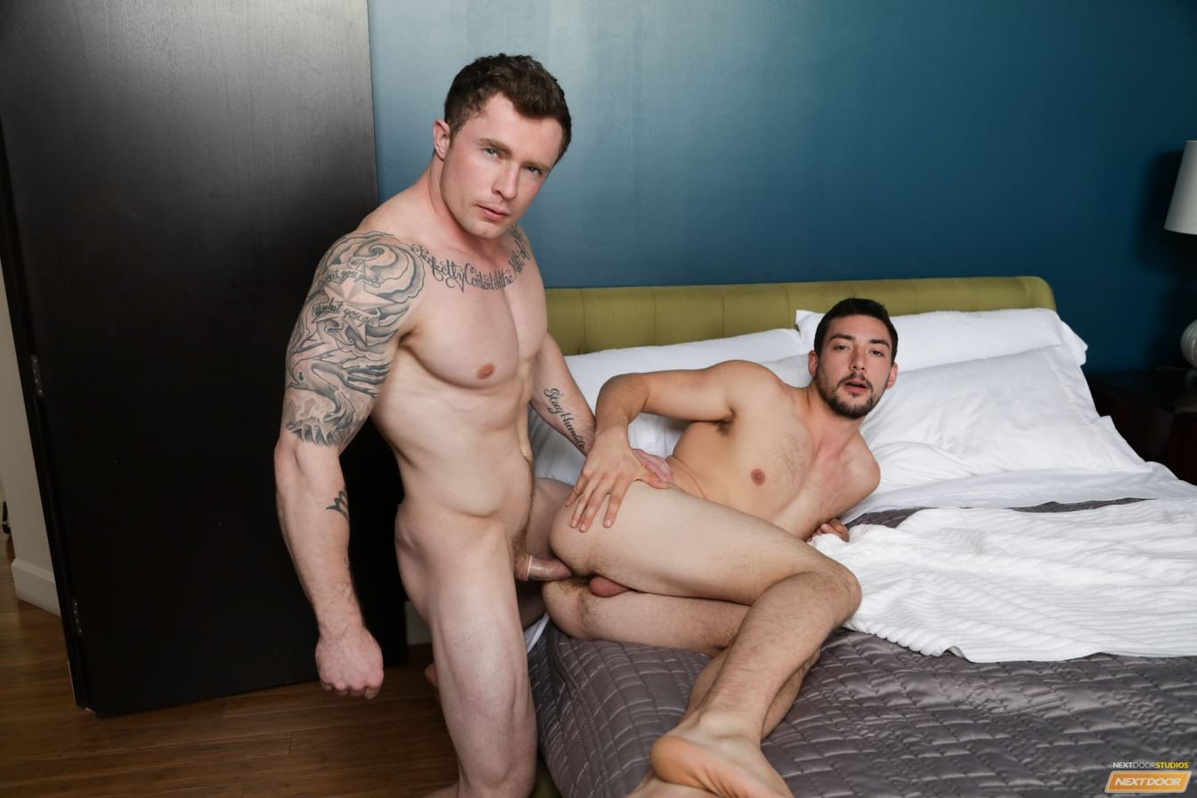 Markie More and Chase Klein Gay Porn