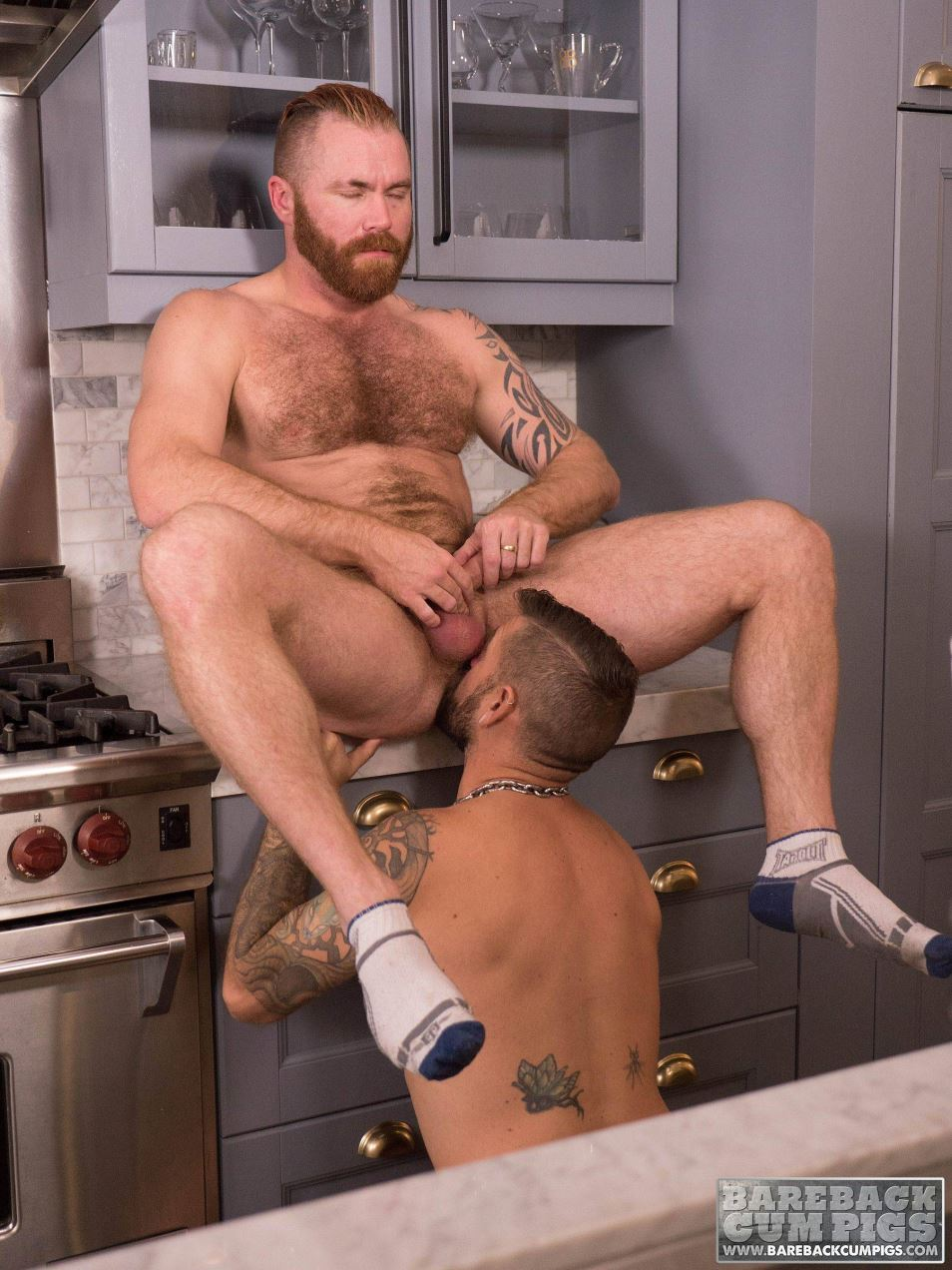 Jon Shield and Zac Acland Bareback Gay Porn