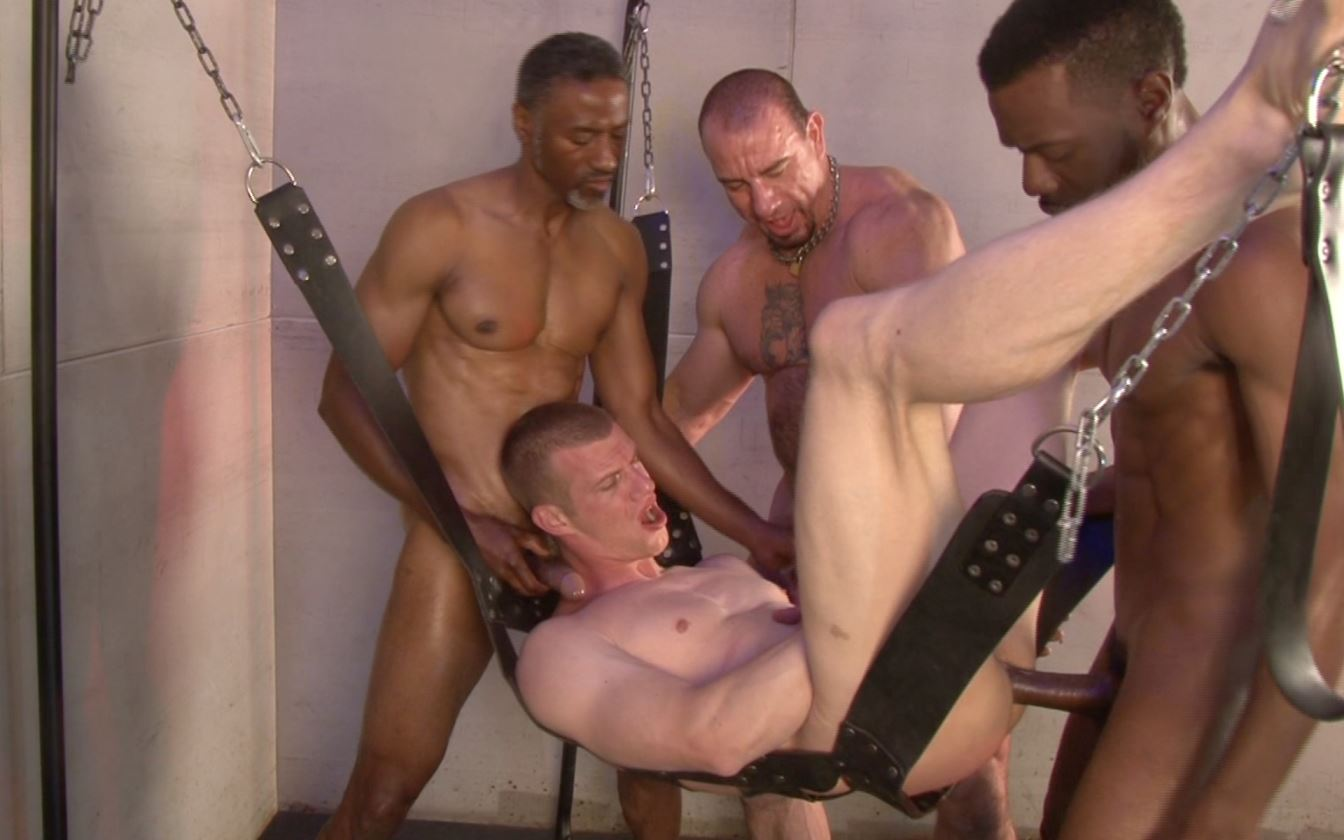 Blake Daniels, Jerry Sterns, Chase Coxxx and Ed Hunter 5