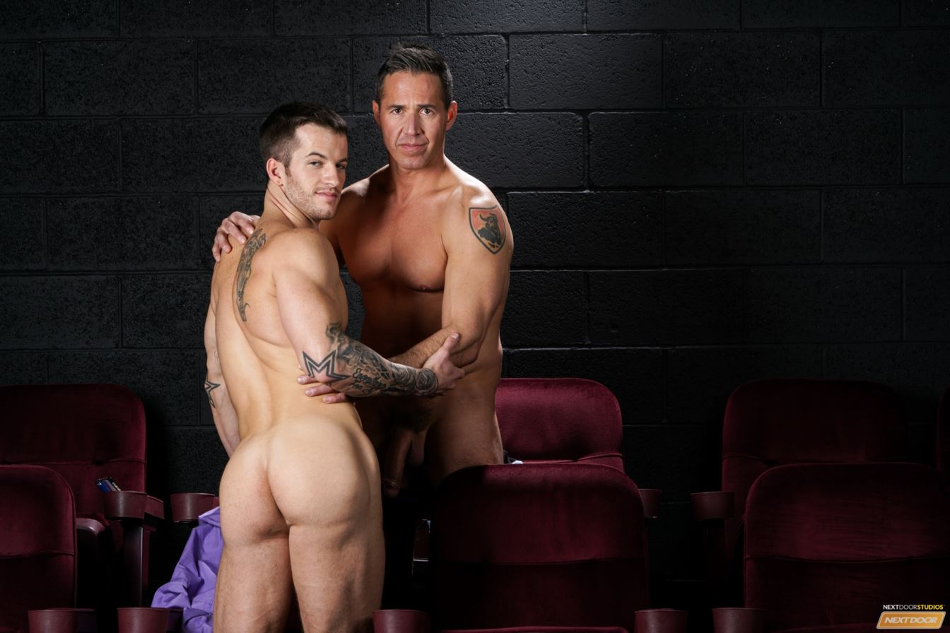 Intense And Exciting Homosexual Three-some Homo Episode