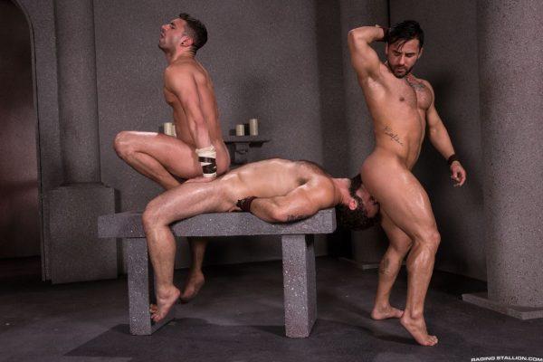 Jaxton Wheeler, Bruno Bernal and Ian Greene