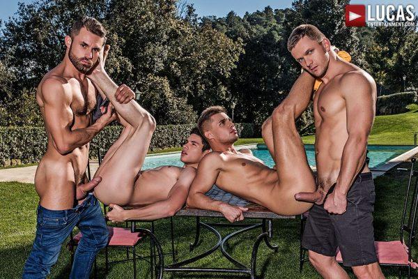Klim Gromov, Ricky Verez, James Castle and Andrey Vic