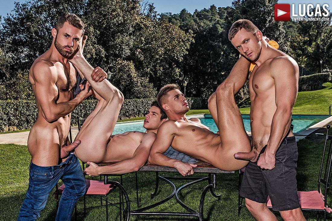 Klim Gromov, Ricky Verez, James Castle and Andrey Vic 2