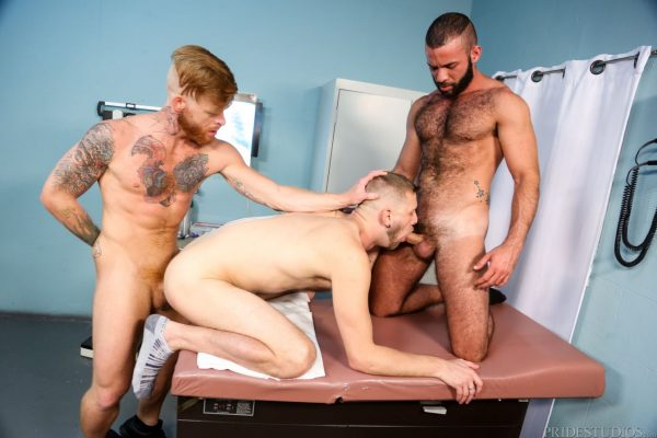 Fernando Del Rio, Bennett Anthony and Chandler Scott