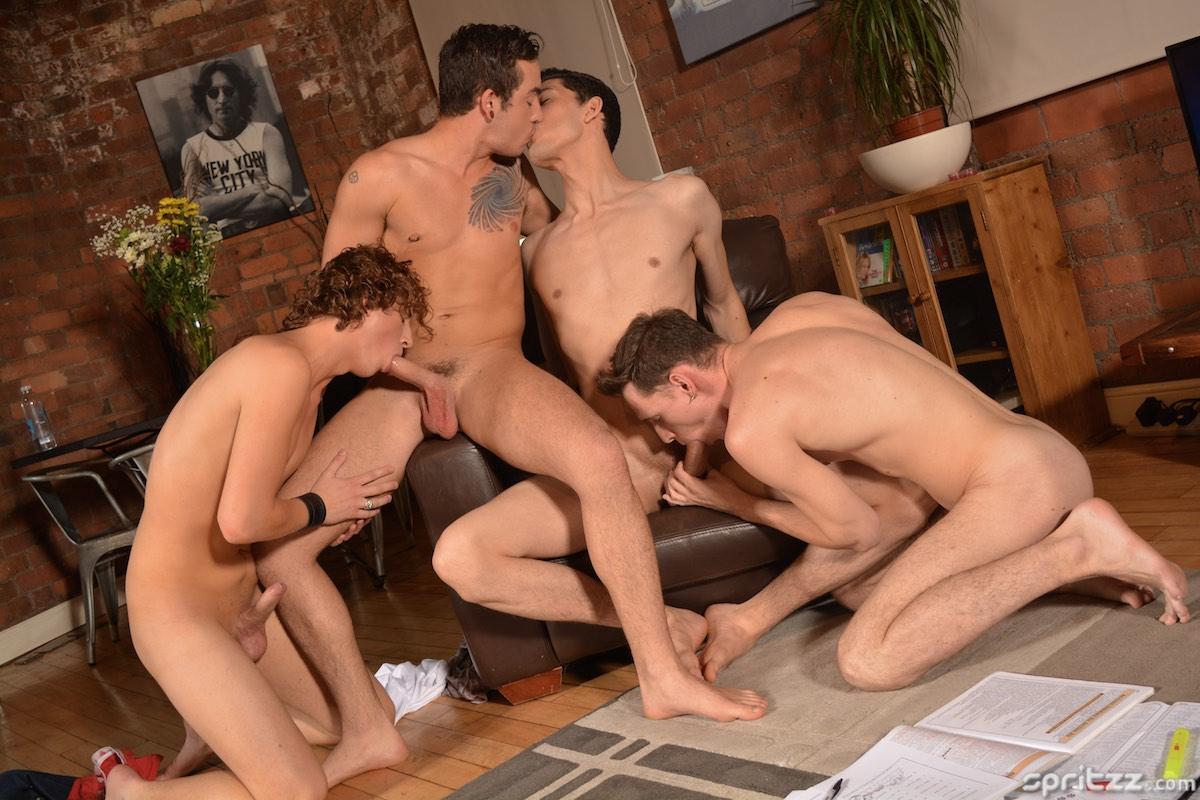 Luke Tyler, Oscar Roberts, Jack Green and Casper Ellis Pt 1 4