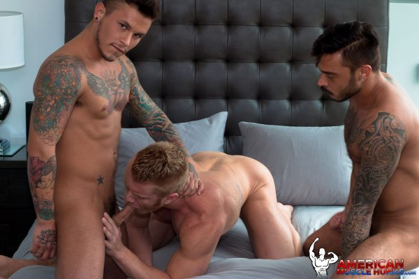 Johnny V, Seth Knight and Cris Knight