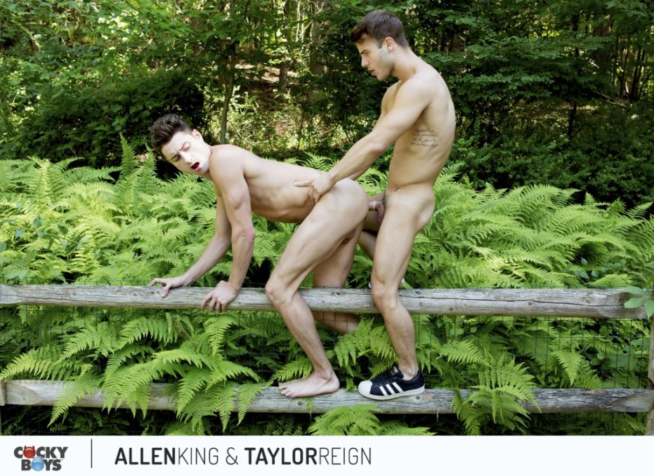 Allen King and Taylor Reign