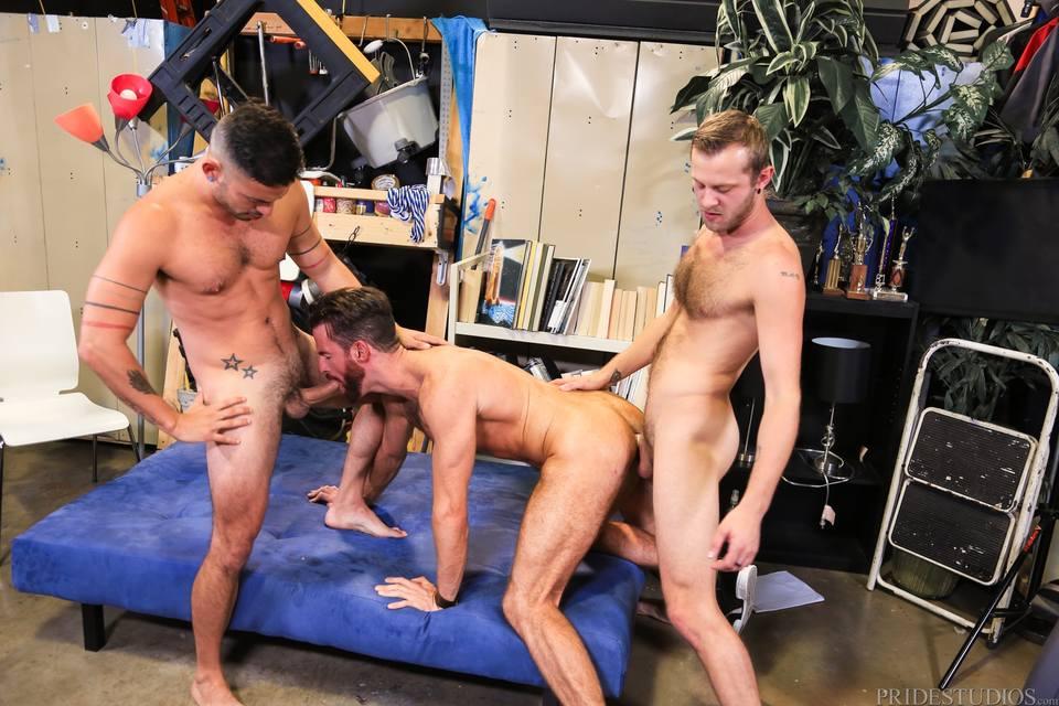 Brendan Patrick, Cesar Rossi and Chandler Scott