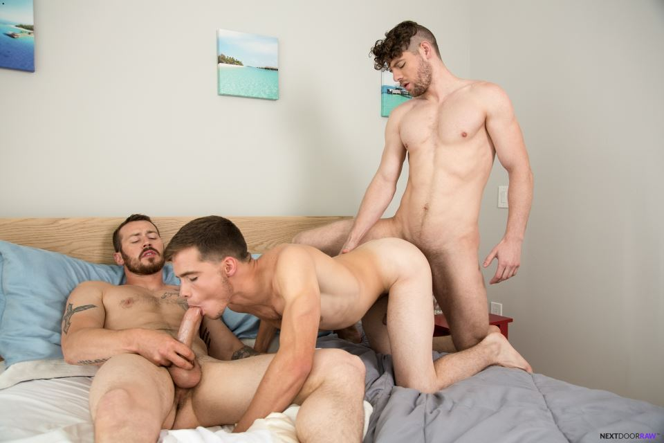 Mark Long, Dakota Young and Connor Halsted 8
