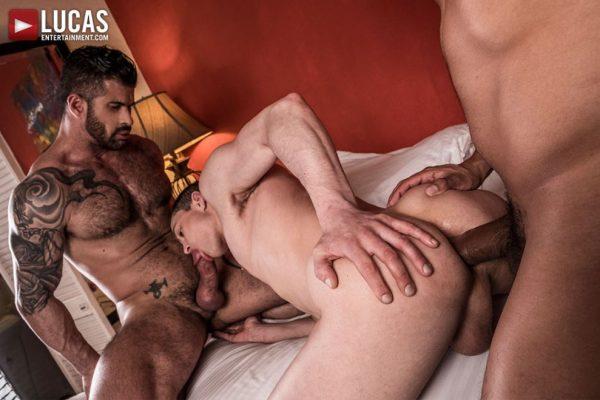 Alejandro Castillo, Adam Killian and Ruslan Angelo