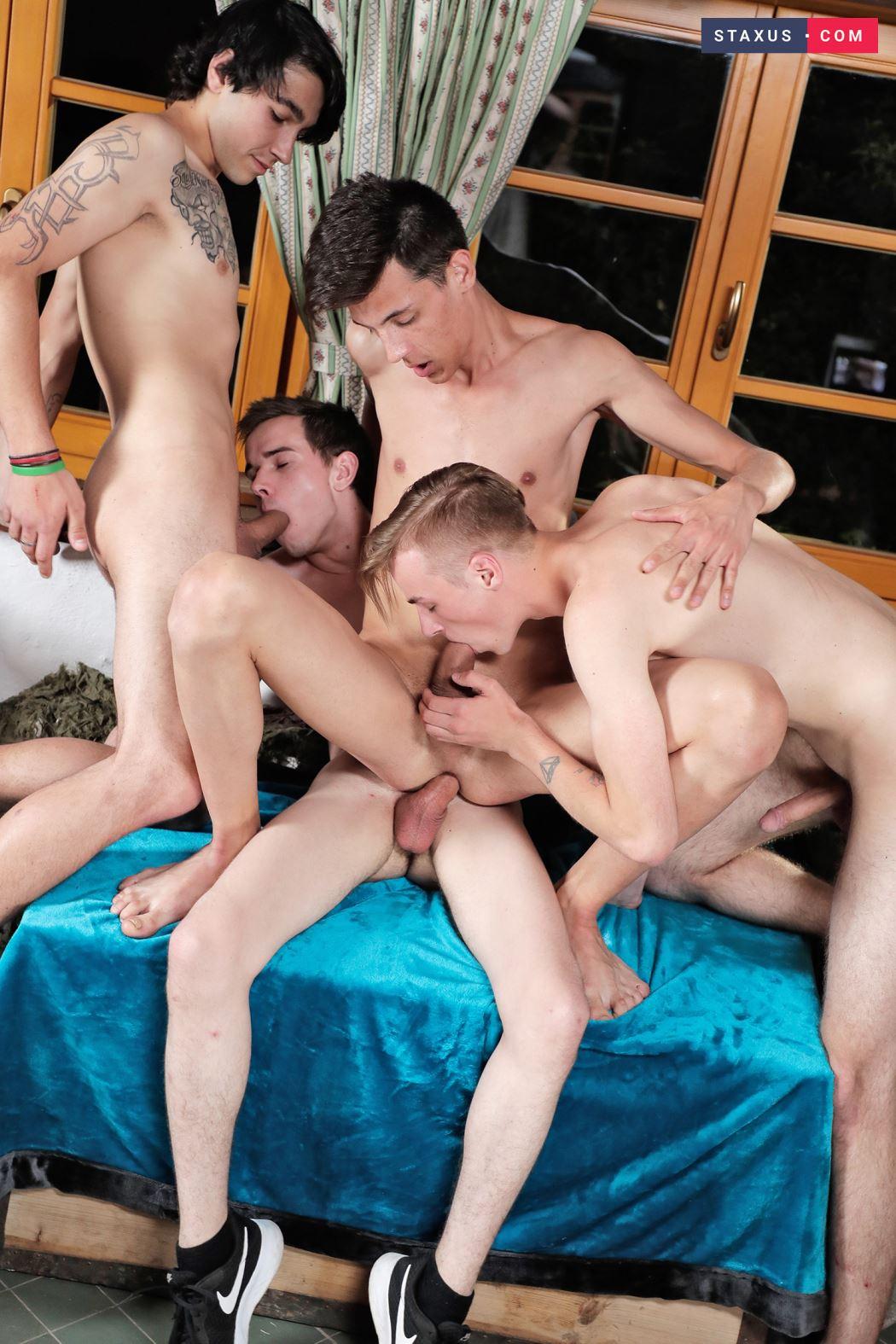 Andy Scott, Casey Flip, Vitali Kutcher and Rhys Kogan