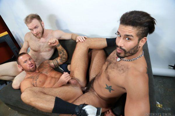 Trey Turner, Peter Marcus and Michael Roman