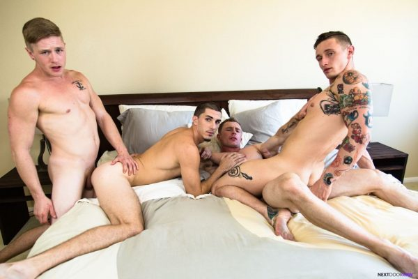 Markie More, Lance Ford, Chris Blades and Damien Kyle