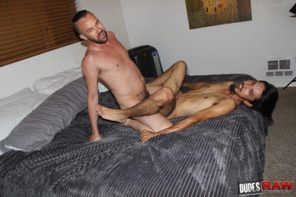 Rave Hardick and Nick Long
