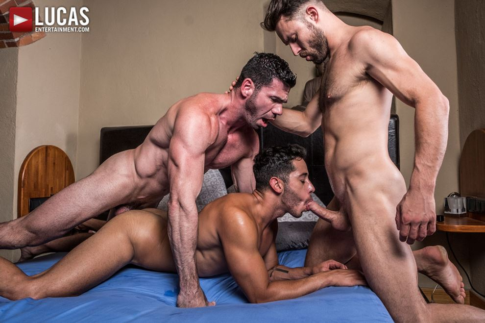 Billy Santoro, Drae Axtell and James Castle 4