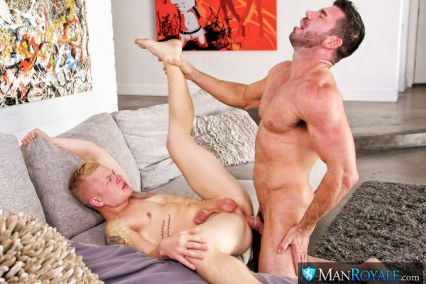 Billy Santoro and Leo Luckett